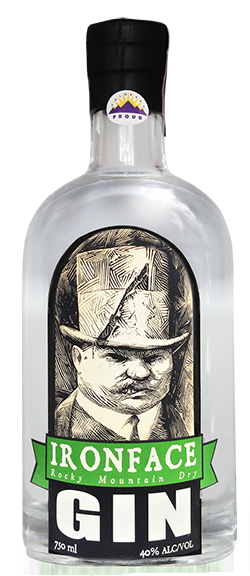 Anvil_Ironface Gin_bottle
